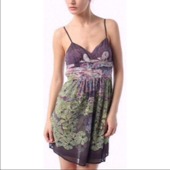 Urban Outfitters Dresses & Skirts - Staring At Stars UO   Floral Surplice Mini Dress